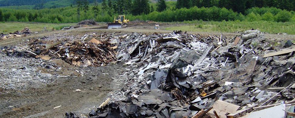 Проблемы вывоза строительного мусора