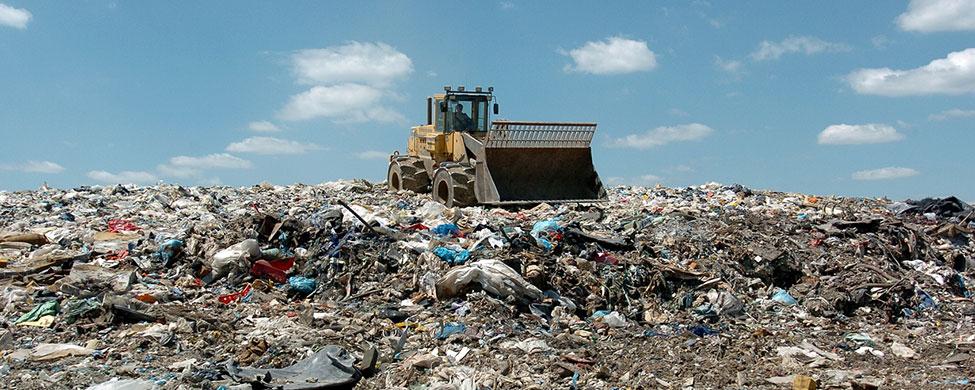 Горы мусора - проблемы городов